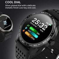 Smart Watch IP68 Waterproof Heart Rate Activity Fitness Tracker Bluetooth Men Smartwatch for iphone Android Phone