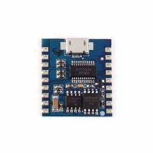 A23 -- USB MP3 плеер модуль аудио 8 Бит I/O IO UART триггер Contorl 32 Гбит флэш-накопитель USB скачать флэш-модуль голоса DY-SV17F