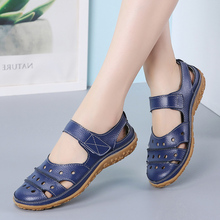 Women Sandals Casual Summer Ladies Closed Toe Beach Sandals Walking Women Flats Shoes Outdoor Comfort Female Fashion Sneakers