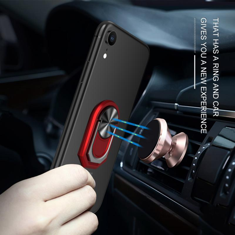 Metal Luxury 2 In 1 Multifunctional 360 ° Rotation Finger Ring Smartphone Stand Holder Mobile Phone Holder For IPhone Xiaomi