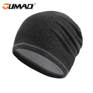 Winter Thermal Warm Cap Running Sport Thin Hat Black Pink Gray Soft Snow Snowboard Hiking Cycling Windproof Ski Men Women 2019(China)
