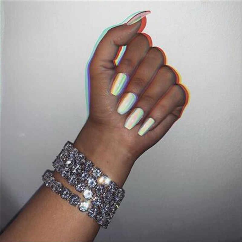 14K Gold Tennis 8 Mm Lab Diamond Armband Armband 925 Sterling Zilver Bijou Party Bruiloft Armbanden Voor Vrouwen Mannen hiphop Sieraden
