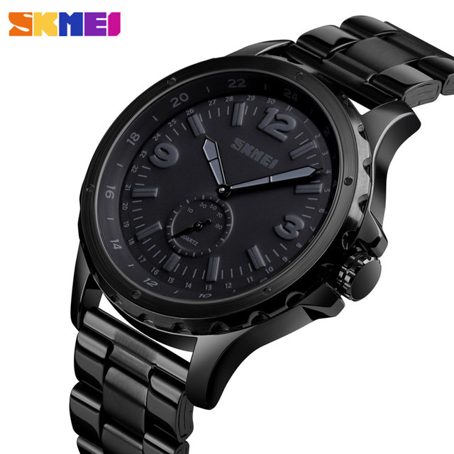 أزياء الرجال ساعة كوارتز 30M للماء ساعة اليد ساعات رجالية الأعلى العلامة التجارية ساعة سكيمي أزياء رجالي سوار ساعة Relogio