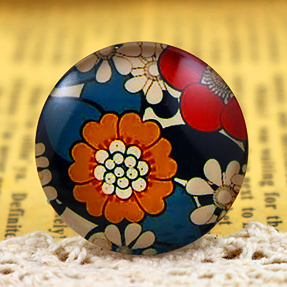 New Fashion  5pcs/Lot 25mm  30mm Handmade Photo Glass Cabochons