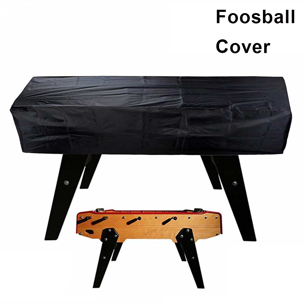 Scratch Resistant Dust Proof Rectangular Stretching Protective Coffee Soccer Patio Chair Outdoor Waterproof Foosball Table Cover