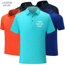 Official Custom overalls customshirt logo embroidery lapel polo shirt short sleeve custom text, gift Idea Men Women