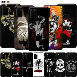 YIMAOC Muay Thai Fight Boxing Soft Silicone Case for Samsung Galaxy S6 S7 Edge S8 S9 Plus A3 A5 A6 Note 8 9(China)
