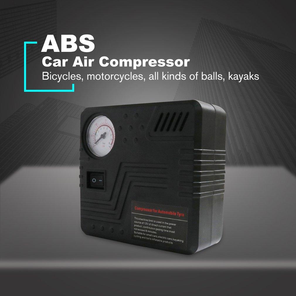 Pump Mini Electric DC 12V Car Air Compressor 120 PSI Air Compressor Tire Inflator Inflatable Pump For Motorcycles