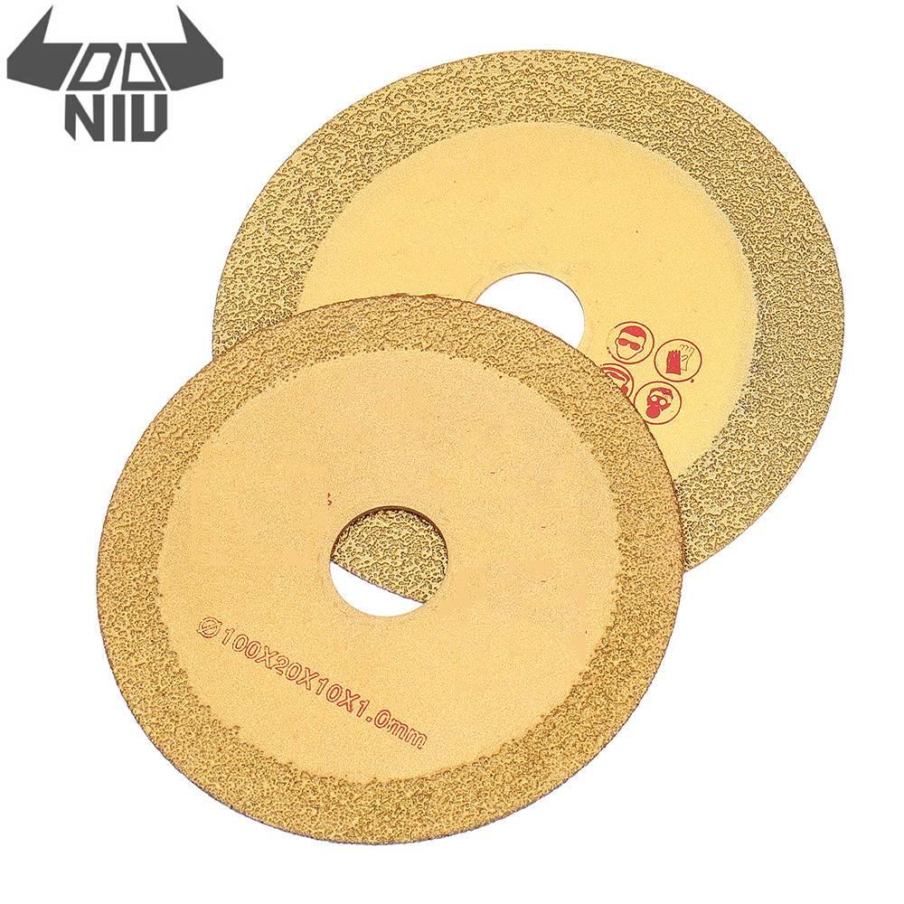 DANIU 100/110mm Diamond Circular Saw Blade Silicon Carbide Circular Cutting Disc For Marble Ceramic Rotary Diamond Discs