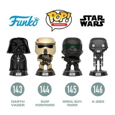 FUNKO POP Star Wars Darth Vader Luke Skywalker  PVC Action Figure Collectible Model Toy