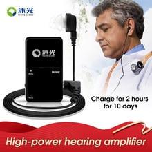 Audífono Digital recargable para ancianos, amplificador de sonido para pérdida auditiva severa, VHP-801