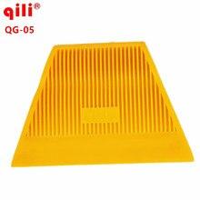 100pcs Qili QG-05 Trapezoidal Scraper High Temperature Resistance Hard Squeegee Car Scraper Tools With Size Car Wrapping Tool
