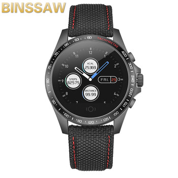 BINSSAW 2020Smart Watch Support GPS Positioning Sports Waterproof Phone Call Heart Rate Tracker Men Women Watch For Android iOS
