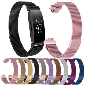 Essidi Milanese Strap For Fitbit inspire inspire HR Smart Bracelet Magnetic Stainless Steel Watch Band Clasp For Fitbit inspire фото