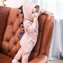Baby boy ubrania kreskówka dinozaur kombinezon z zamkiem noworodka ubrania indeksowania ubrania dziewczynka kombinezon ubrania dla dzieci tanie tanio NoEnName_Null 0-3 miesięcy 4-6 miesięcy 7-9 miesięcy 10-12 miesięcy 13-18 miesięcy 59-90 Footies Pasuje prawda na wymiar weź swój normalny rozmiar