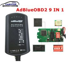 A+Version Full Chip AdBlue 9 IN 1 For MEN/MB/SCANIA/IVECO/DAF/VOLVO/RENAULT/CUMMINS AdBlue 9in1/8in1 SCR&NOX