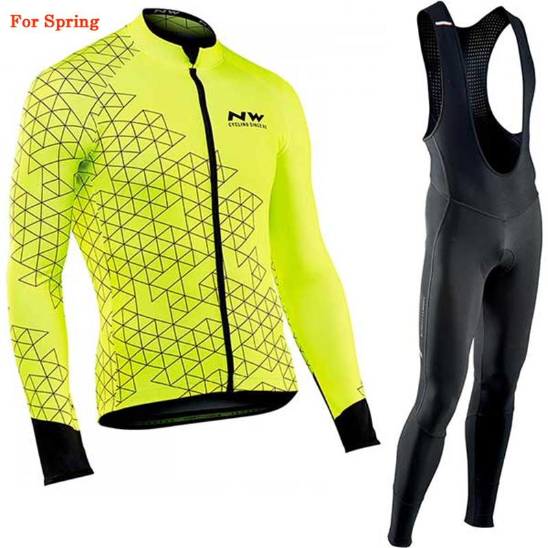 Northwave 2020 Spring Cycling Jersey Set Breathable MTB Cycling Clothing Mountain <font><b>Bike</b></font> <font><b>Wear</b></font> Clothes Maillot Ropa Ciclismo Hombre image