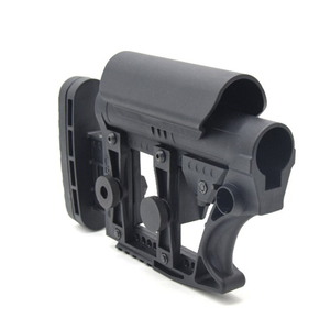 Image 5 - XPOWER LUTH MBA 3 STYLE STOCK Adjustable Extended For Air Guns CS Sports Paintball Airsoft Tactical BD556 Receivers Gearbox