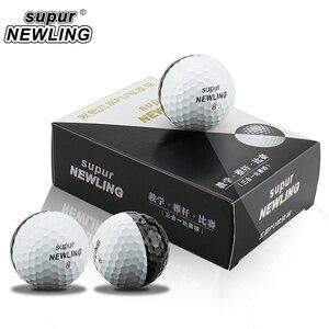 Image 5 - Мячи для игры в гольф на супер большом расстоянии 6 шт./кор. трехслойные шары из ПУ подходят для желобов черного и белого цвета
