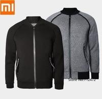 Xiaomi Männer baseball jacke Licht komfortable langstapelige baumwolle männer kragen pilot jacke Beiläufige Laufende fitness sweatshirt