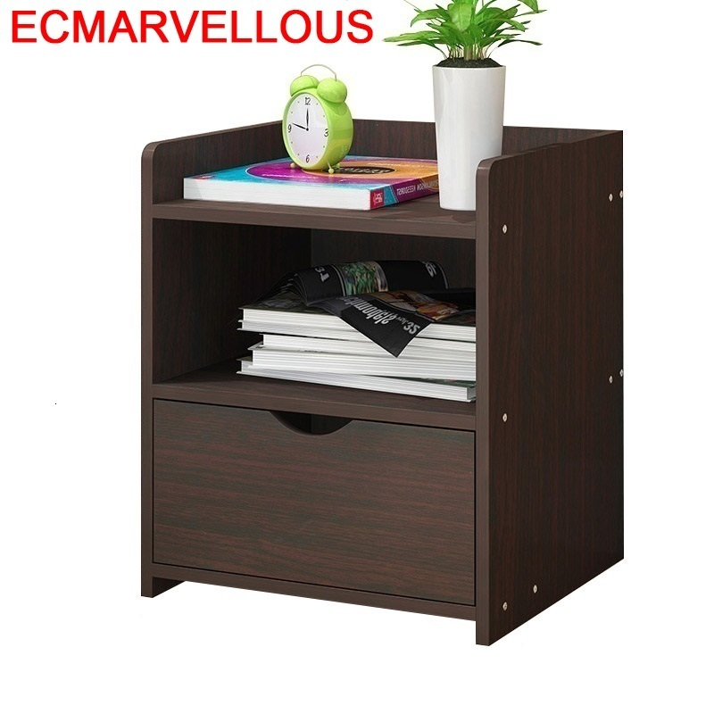 Chevet Meuble Chambre Lemari Kayu Mesa Noche European Wood Cabinet Mueble De Dormitorio Quarto Bedroom Furniture Nightstand