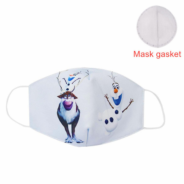 Hot Sale 2020 MEZMER Cartoon Maska Dustproof Mouth Face Mask Kid Cartoon Cover Fashion Muffle Face Mouth Masks for Children Game 5