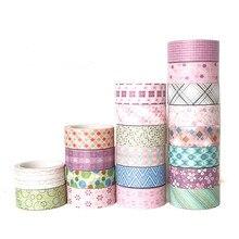 10 Pcs/Set washi tape set Christmas masking stationery papeleria washitape papelaria cinta adhesiva decorativa