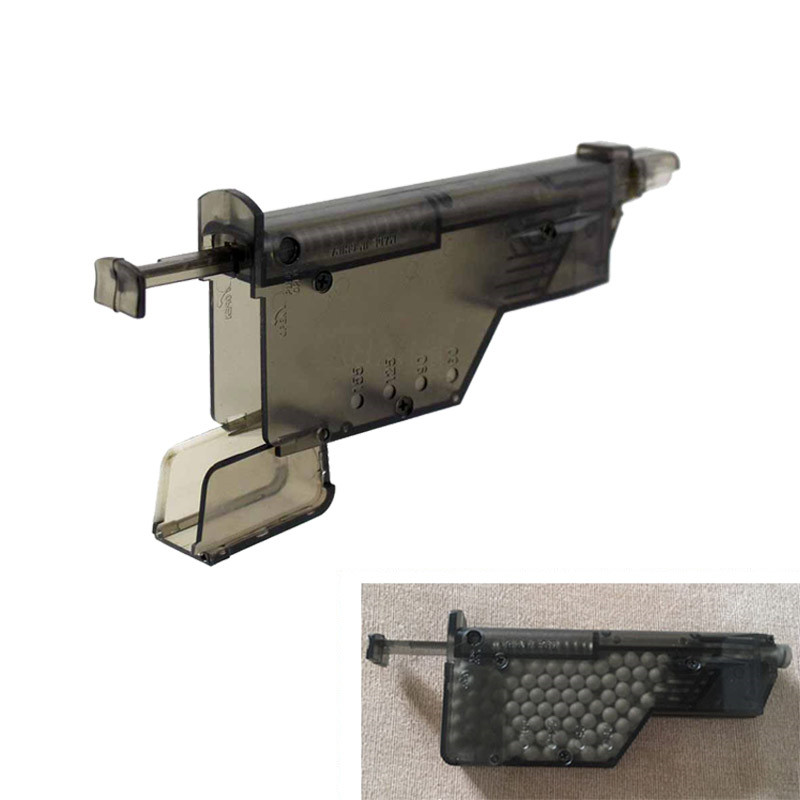 BB Paintball Quick Speed Loader Airsoft 155 Rounds Tactical Speed Loader Combat War Game Plastic BB Loaders Outdoor Accessory