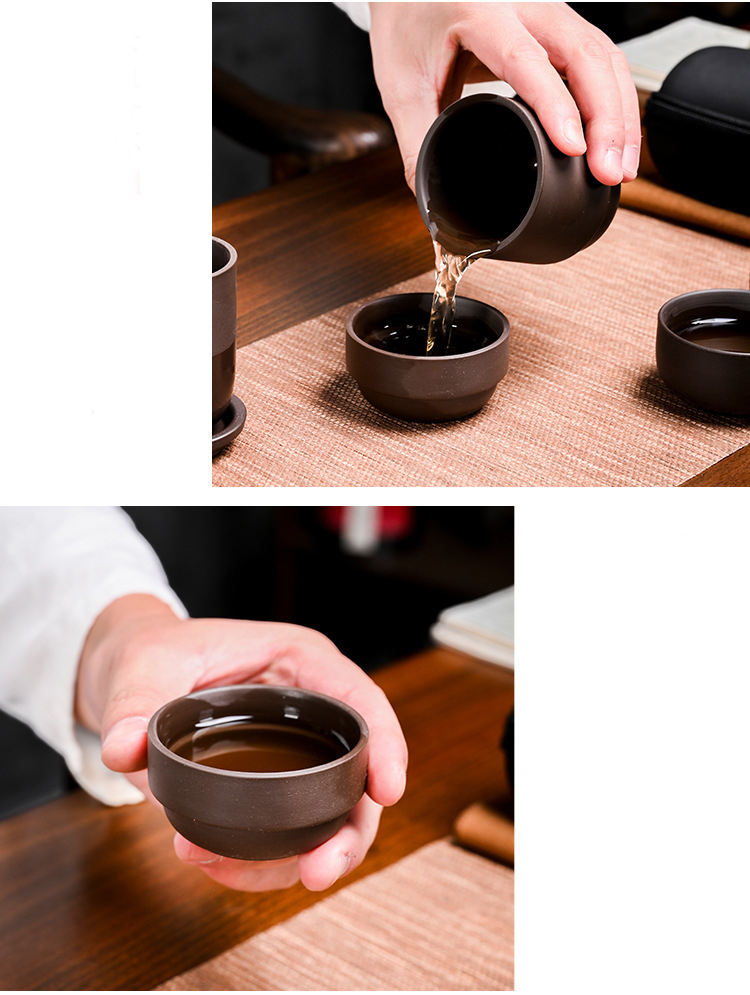 tureen infusor chá chinês cerimônia com saco