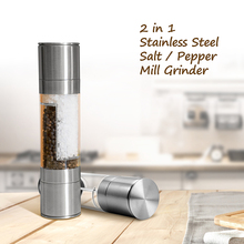 Grinder Kitchen Pepper Salt Cooking-Tools Seasoning Spice-Mill Manual Upgraded Stainless-Steel