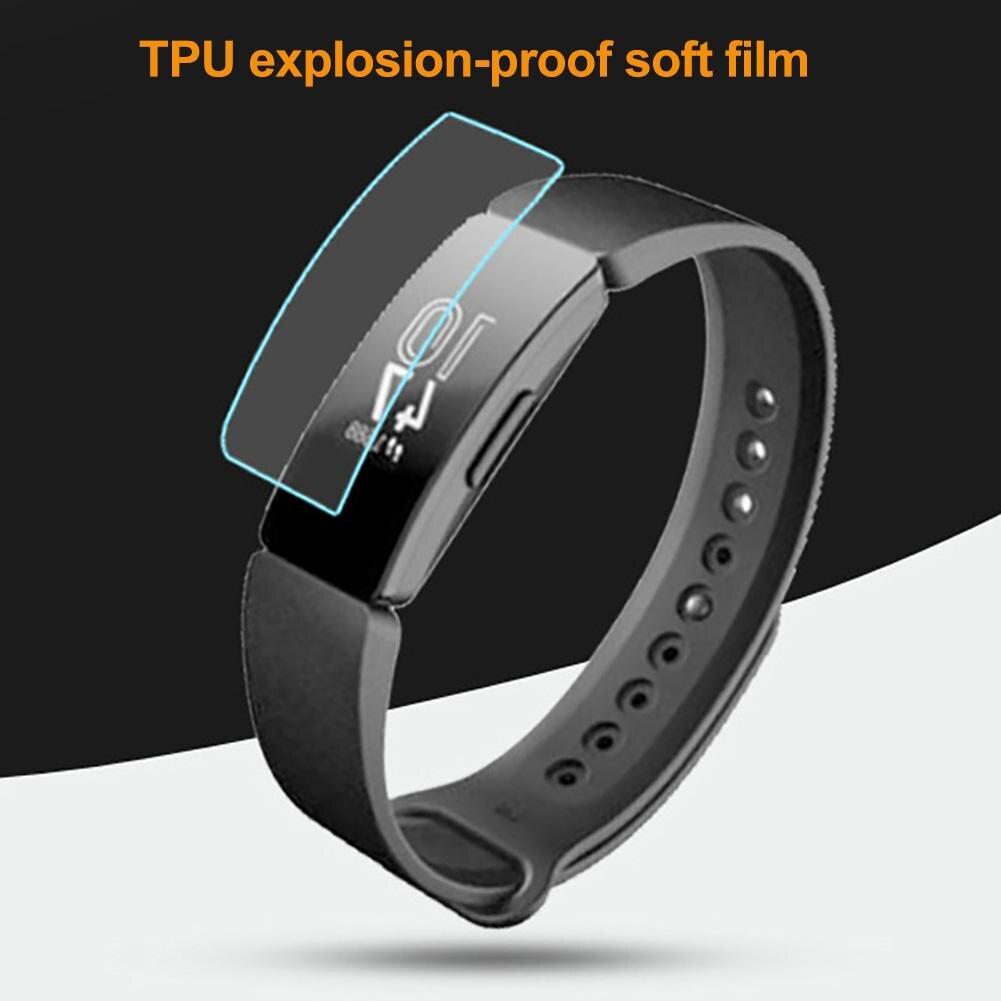 High Clear Protector Film TPU Smart Watch Screen Protector Film for Fitbit Inspire HR/Fitbit умные часы протектор экрана