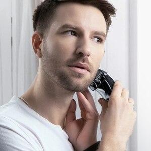 Image 3 - ENCHEN BlackStone3 elektryczna maszynka do golenia 3D inteligentna maszynka do golenia USB ładowanie IPX7 wodoodporna 3 głowica wyświetlacz LCD dla mężczyzn mężczyzna
