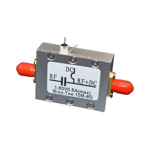 Image 5 - 새로운 10MHz 6GHz RF 바이어스 티 광대역 무선 주파수 마이크로파 동축 바이어스 A7 015