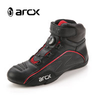 ARCX Motorcycle boots Touring boots Cow leather Breathable boots L60555