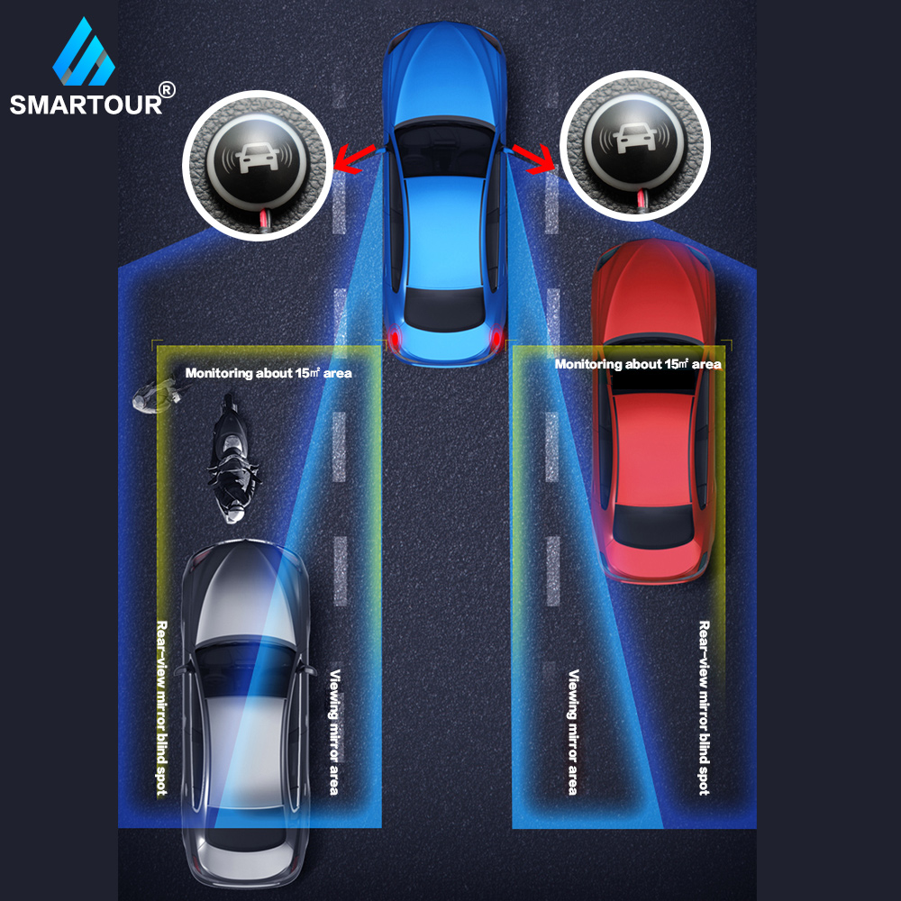 Car BSD BSM Blind Spot Radar Detection System microwave sensor change lane driving assistance Reversing radar sensor blind spot