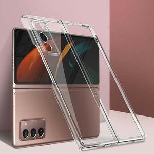 Image 3 - Suitable For GalaxyZ fold2 mobile phone case creative electroplating cover transparent protective personalized all inclusiv Y8E7