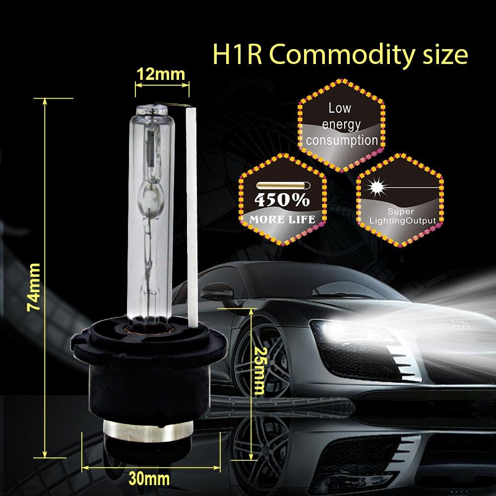 Image 2 - CARCTR 2 PCS  Car Headlight Bulbs Xenon Headlamp HID 55W D2S 3000K 4300K 5000K 6000K 8000K 10000K 12000K 15000K Car HeadlightCar Headlight Bulbs(Xenon)   -