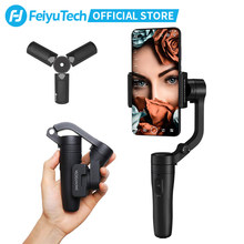 FeiyuTech Vlog Pocket 3-Axis Handheld MINI Phone Gimbal Smartphone Stabilizer for iPhone X 8 7 Plus, HUAWEI P20 MI Samsung Note9(China)