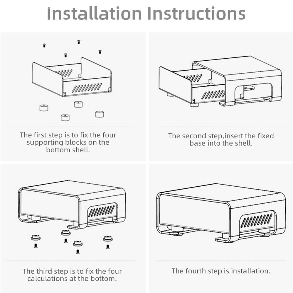 caixa de bateria eletronica aluminio habitacao personalizado p01 2484815209mm 05