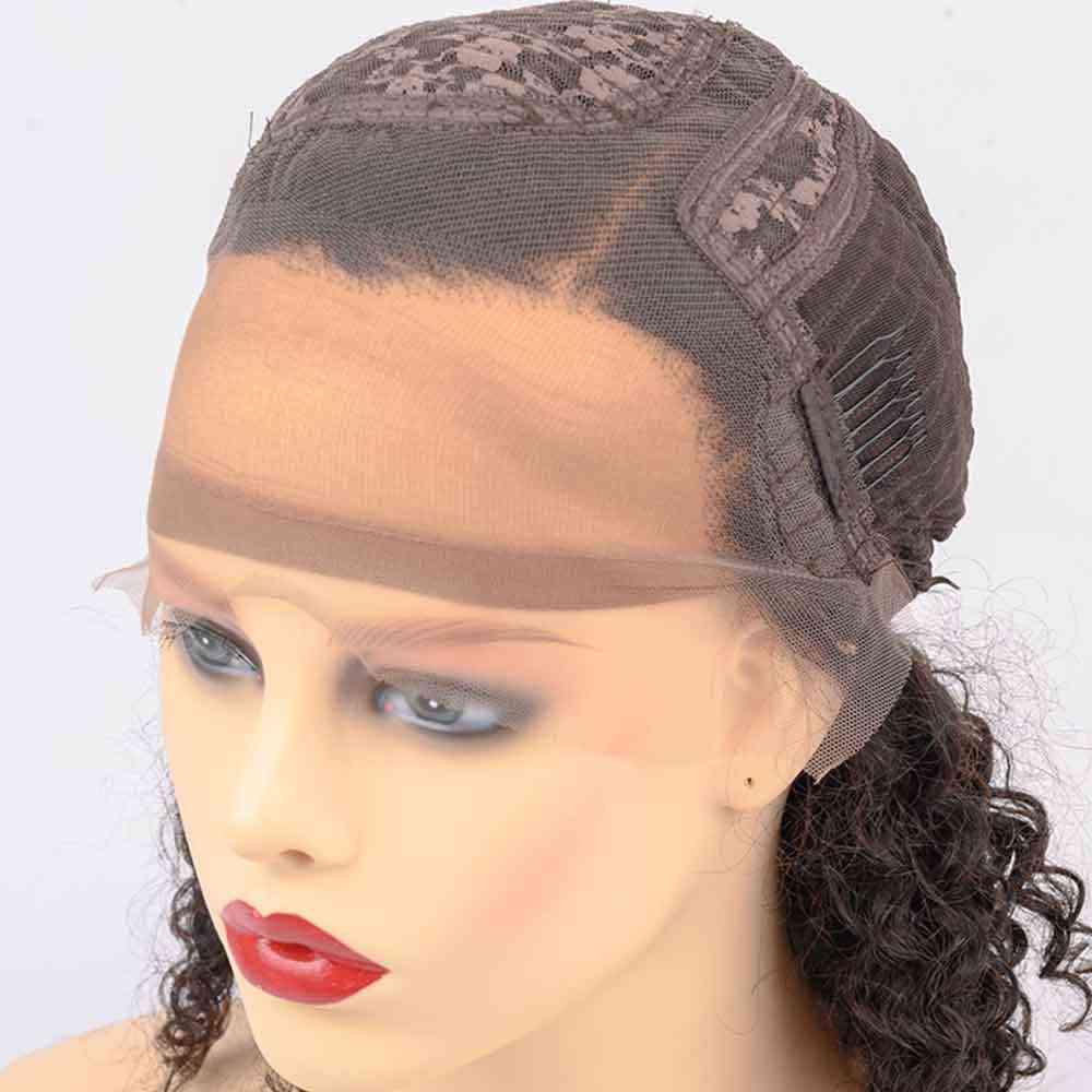 Парик Pixie Cut, фиолетовый короткий парик из искусственных волос, отбеленные узлы, кружевные передние человеческие волосы, парики T Part, цветной кружевной передний парик для женщин, 130 Remy