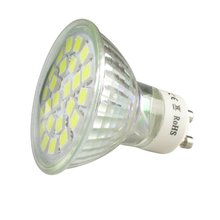 GU10 4W 3000K низкое потребление экологически чистый незатемняемый Компактный размер легкий 120 градусов угол луча СВЕТОДИОДНЫЙ прожектор