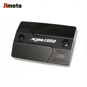 Image 4 - For YAMAHA XJR1300 XJR 1300 High Quality New Motorcycle Aluminum Accessorie CNC Front Brake Fluid Reservoir Oil Tank Covers Cap