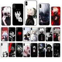 Anime tóquio ghoul japão suave caso de telefone para o iphone 11 pro max para o iphone 12 pro max xs max xr se2 8 7 6s mais x 5