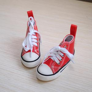 """Image 2 - BJD SHOES Red Sneakers Canvas Shoes Sports Flats For 1/4 17"""" 44cm 1/3 SD17 70cm SD BJD doll DK DZ AOD DD Doll FREE SHIPPING"""