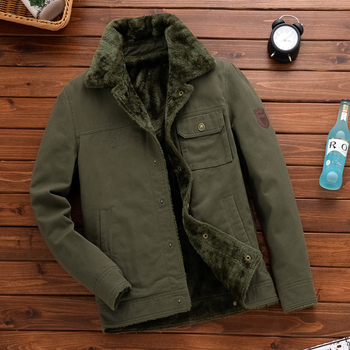 2019 New Casual Thick Winter Jacket Man