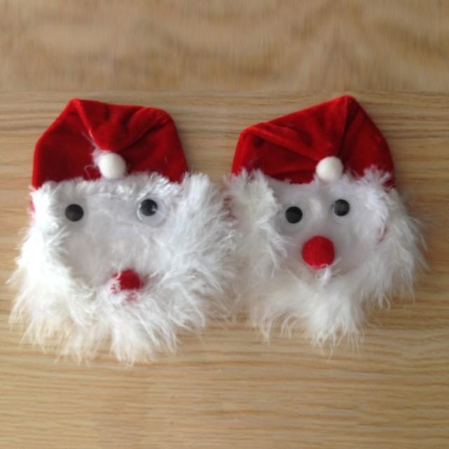 Moderno adhesivo de pétalos de Santa Claus para mujer, pegatina para pezón, ropa interior de tentación para fiesta de Navidad, L58