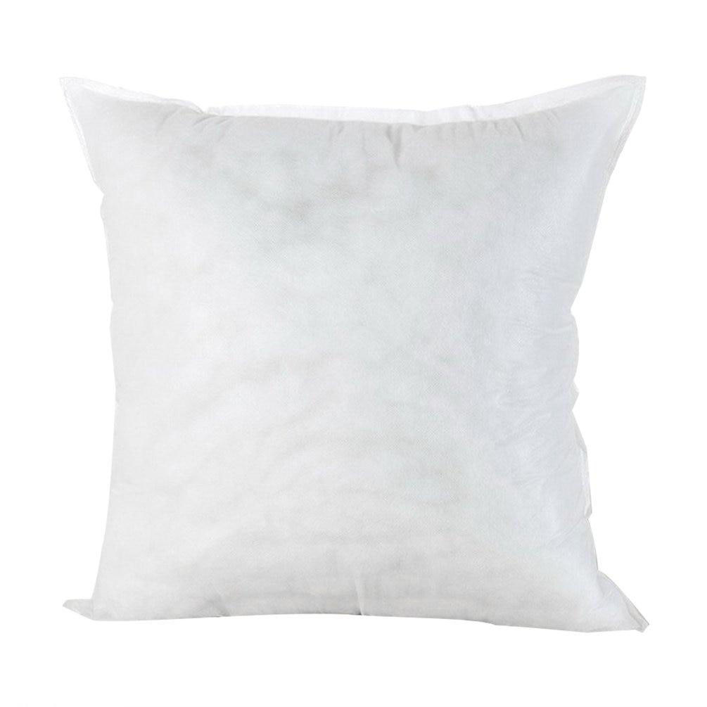 Подушка из полипропилена и хлопка 3 размера, однотонная высокоэластичная подушка для дивана, машины, отеля, мягкая домашняя Подушка с хлопко...