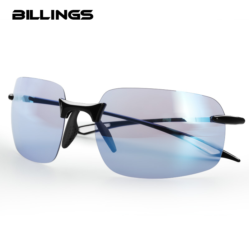 Солнцезащитные очки BILLINGS, спортивные поляризационные очки для рыбалки на открытом воздухе, мужские и женские очки для рыбалки, для велоспор...