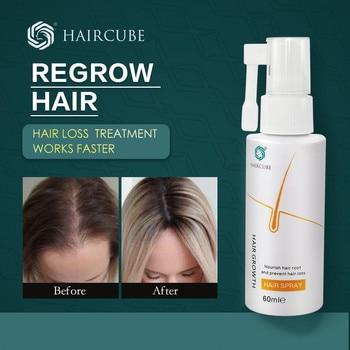 HAIRCUBE Hair Growth Serum Spray Treatment Hair Care Products for Hair Growth Oil Natural Organic Hair Tonic Beauty Products hair relaxers matrix p1087800 hair care products recovery cream serum masks