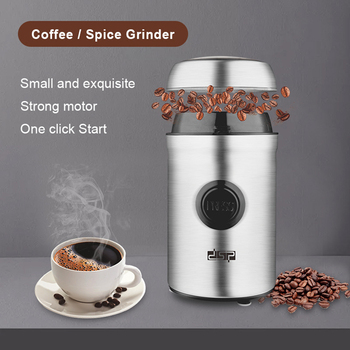 Electric Coffee Grinder Kitchen Cereals Nuts Beans Spices Grains Machine Multifunctional Home